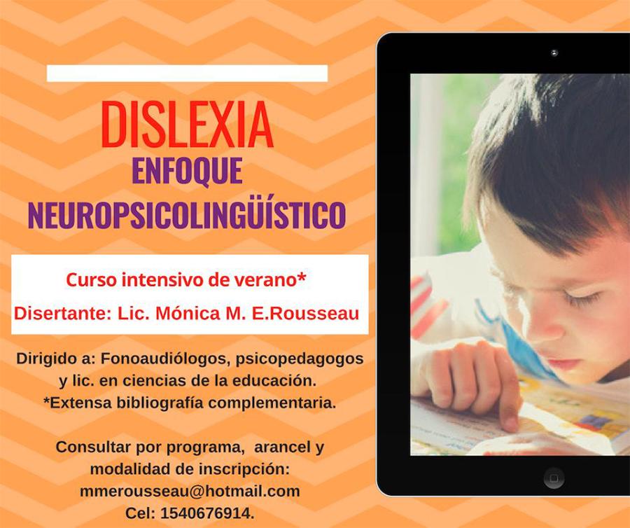 Curso intensivo de Dislexia - enero 2019